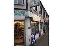 Fantastic High Street Shop/Off Licence for Rent/Lease