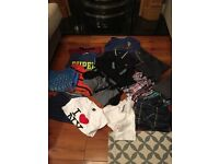 Amazing mostly brand new boys winter bundle age 7-8. Next, John Richard, Fred Perry.