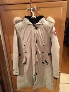 Women's Canada Goose (off white) Kensington Jacket size small