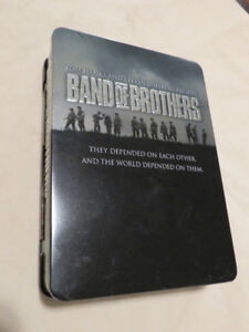 Band of Brothers DVD Set Tin Box 6-Disc 2002 NOW $5