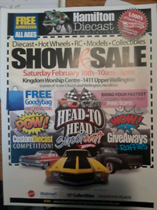 Hamilton Diecast Show and Sale