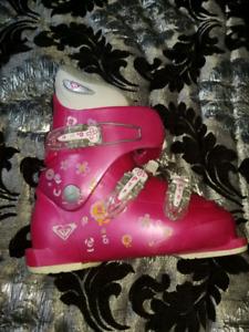 Bottes de ski fille Roxy taille 22.5