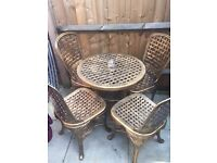 Brand new garden table & 4 chairs