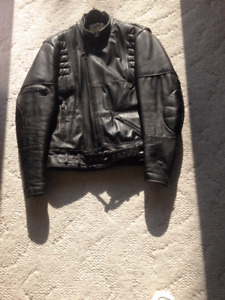 motor cycle leathers ,pants and jacket