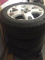 NEW MICHELIN MXV4 TIRES & RIMS 225/60R/18'' (WAS $2200)