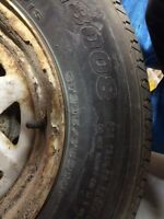 14 trailer tires for sale with rims and spare tire