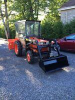 tracteur kubota LI22D
