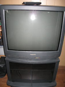 TV AND STAND COMBO