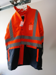 Safety Jacket 3 in 1  with reflective stripes