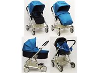 Mamas & Papas Urbo 3 in 1 Travel System - Teal