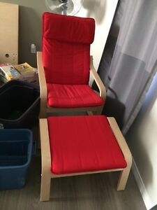 ikea poang chair $80