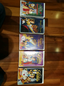 Collector's Beauty and the beast VHS set