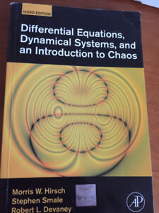 Differential Equations, Dynamical Systems, and an Intro to chaos