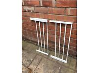 Lindam Child Safety gate extenders