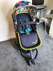 Cosatto Giggle 3 in 1 Travel System pitter patter excellent condition