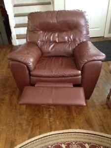 Leather Reclining Elran chair