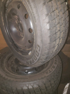 225 60 16 wknter tires and rim