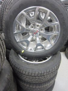 GMC 20'' wheels and tires