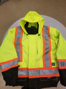 XXL Worker King Safety Jacket in perfect condition! $70