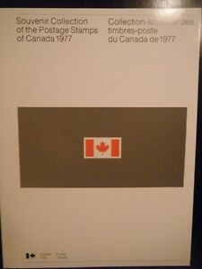 CANADA SOUVENIR COLLECTION STAMPS YEAR 1977