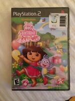 Dora's Big Birthday Adventure PS2 New