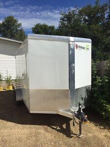 2015 all aluminum enclosed trailer