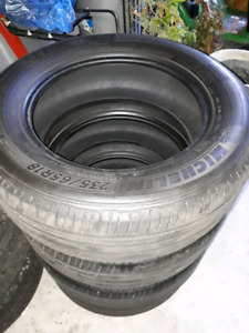 4 Gently *USED* 235/65R18 Michelin Premier LTX Tires