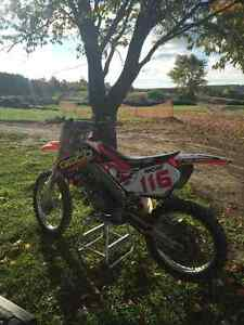 Honda CR125 with ownership,