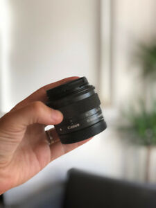 Canon 15-45mm ef-m *Never Used*