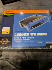 Linksys CAble DSL/VPN ROuter