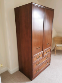 G plan wardrobe and bedside tables