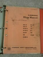 Kawasaki Motorcycle Workshop Manuals