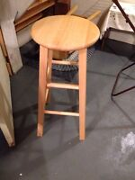Four wooden stools available!!!