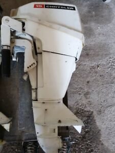 Chrysler 15HP outboard