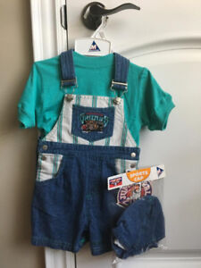 Brand New Vancouver Grizzlies Kids Shorts Jumper 18 months