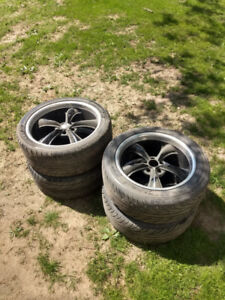 18 and 20 inch boss rims