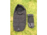 Quinny Buzz Foot Muff and bag