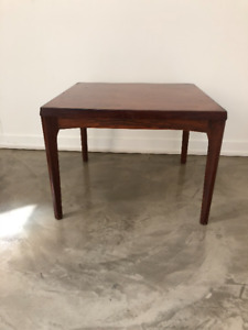 Mid Century Rosewood Square Coffee Table