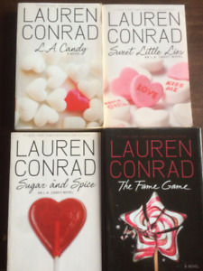 Livres Chick lit (lot de 4) - Lauren Conrad