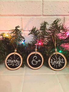 Rustic Handmade Holiday Ornaments St. John's Newfoundland image 5