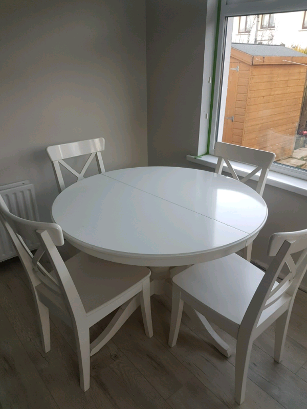 Ikea table and chairs | in Dunmurry, Belfast | Gumtree