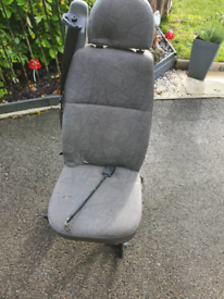 3 single van seat with seat belts