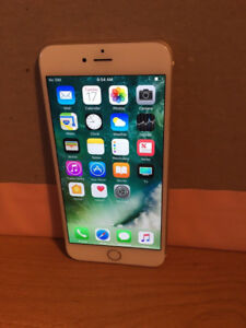 Iphone 6 plus gold 16gb with Tbaytel