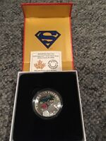 Superman superhero silver coin sold out at mint $10 face value