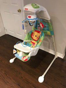 Fisher Price Baby Swing and cradle