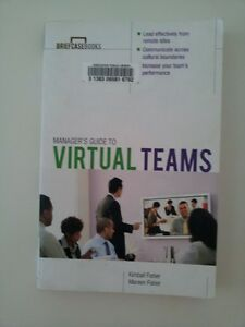 MANAGER'S GUIDE TO VIRTUAL TEAMS Kingston Kingston Area image 1