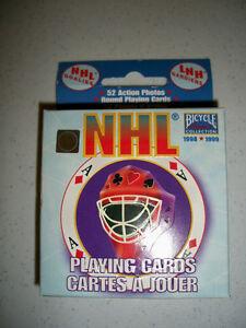 NHL cartes à jouer Bicycle