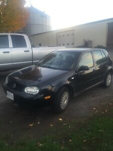 1200 obo NEED GONE BY THURSDAY! 2002 Volkswagen Golf