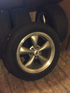 2006 Mustang GT tires and rims