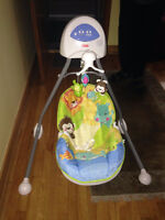 Balançoire-Berceau Fisher Price/ FP swing, exceptional condition